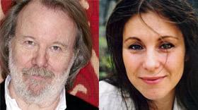 Benny Andersson and Helen Sjöholm