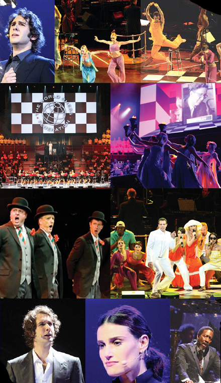 CHESS In Concert montage
