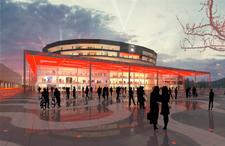 Malmö Arena sketch
