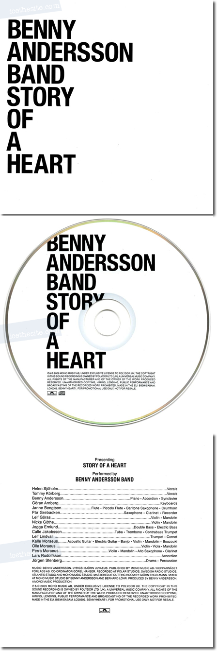 Benny Andersson Band - Story Of A Heart (Promo)