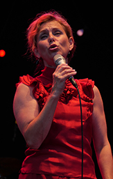Sofia's idol Helen Sjöholm