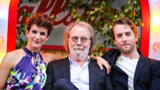 Maria Ylipää, Benny Andersson & Robert Noack at 'Allsång' - photo:Niklas Lindman