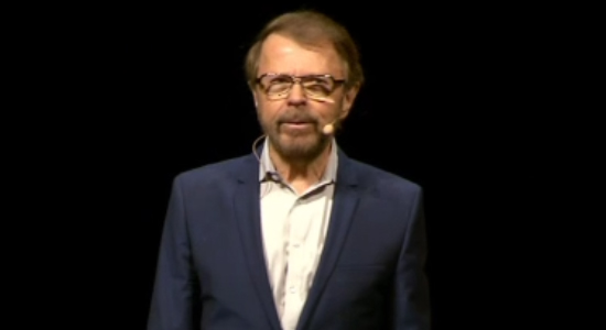 When Björn Ulvaeus met Richard Dawkins was filmed at Stockholm's Cirkus theatre.