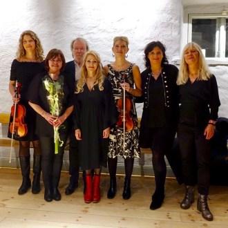 Ida, Lena E, Benny, Cecilia, Erika, Cajsa and Lena W