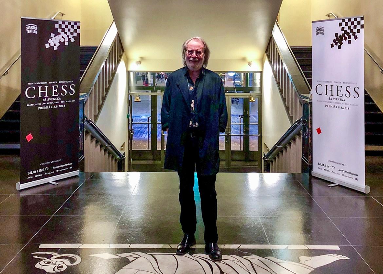 Benny Andersson at Svenska Teatern, Helsinki
