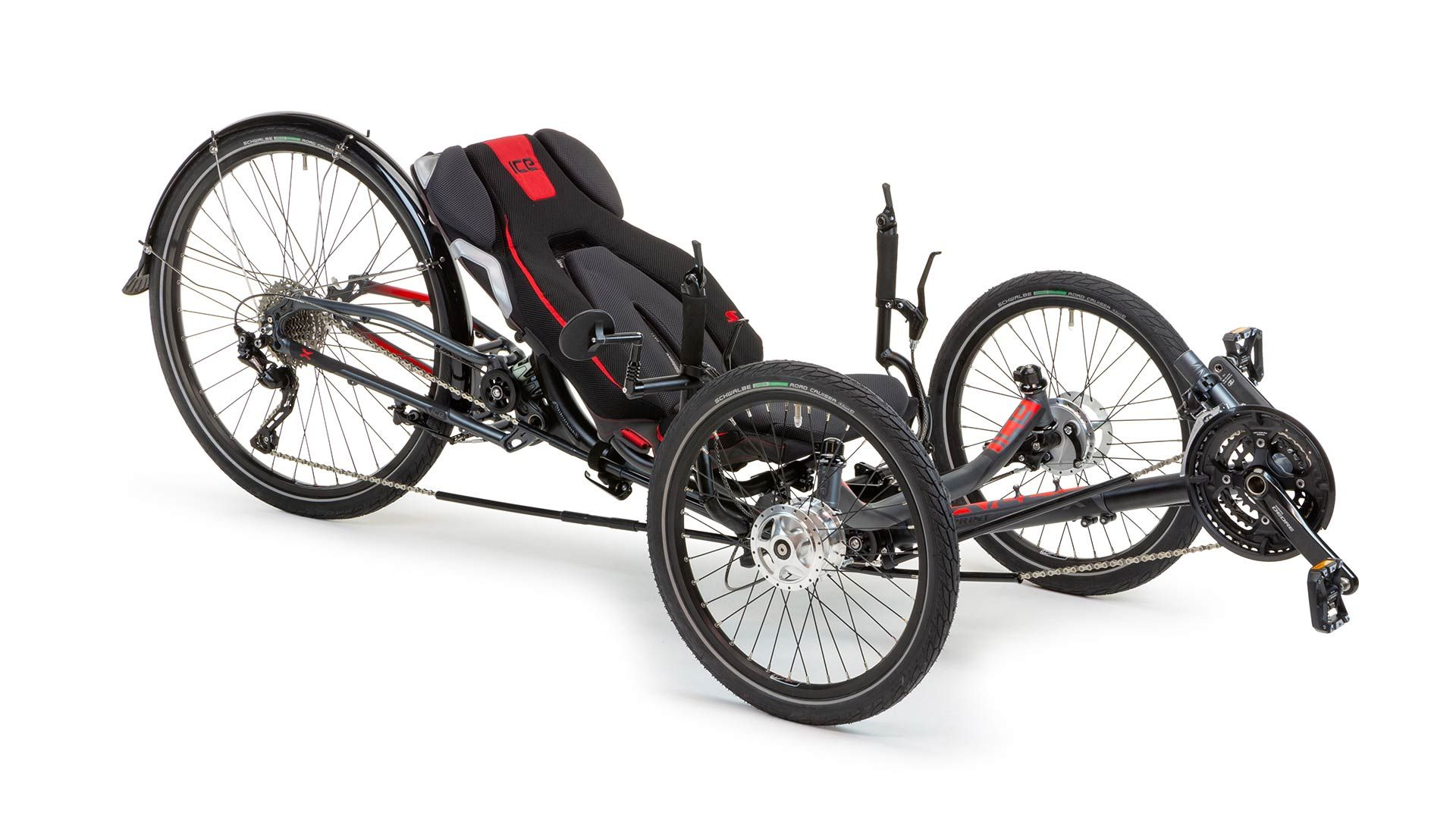 ICE Recumbent Trike and Bike Product Range