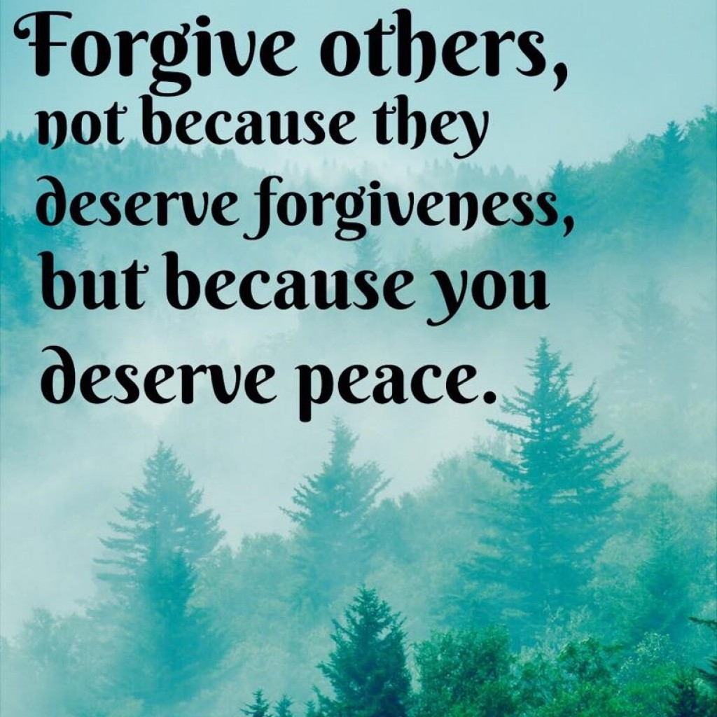 How to let go and forgive someone
