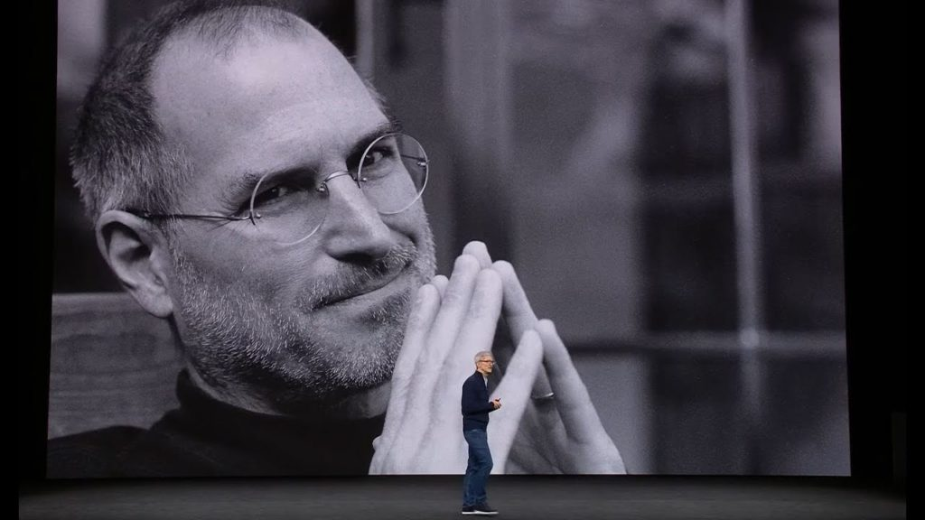 tim crook with steve jobs