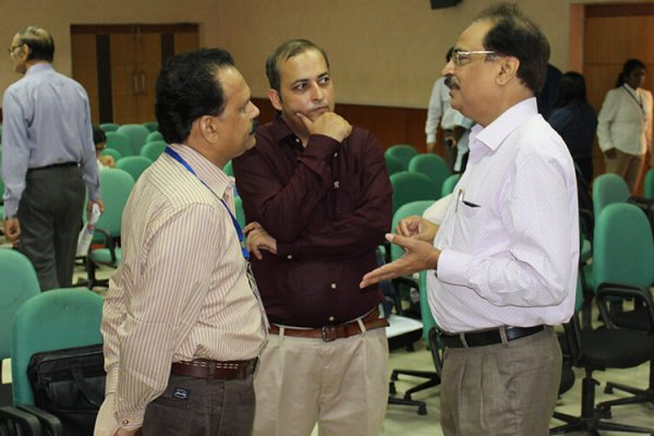 4 Dharmender Saxena, Sachin Gaur and Prof Tanveer Ahmed at IC InnovatorClub Fifth Meeting