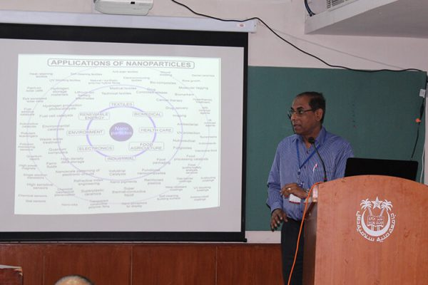 9 Dr. Amit Kumar Dinda giving presentation at IC InnovatorClub Fifth Meeting