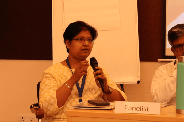 Dr. Vibha Jain in panel discussion at IC InnovatorClub Meeting