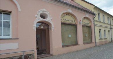 Verkaufsladen in Dahme zwischen Luckau und Jüterbog