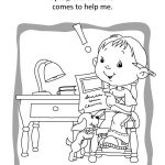 Psalm 121 – Coloring and Activity Book