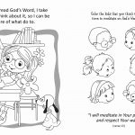 Psalm 119 – Coloring and Activity Book