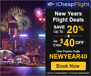 Cheap New year Flights. Book Now before Price Goes Up. Save up to $40 with promo code NEWYEAR40 Valid 11/21 until 12/26