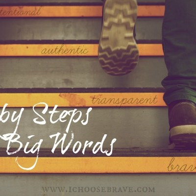 Baby Steps for Big Words