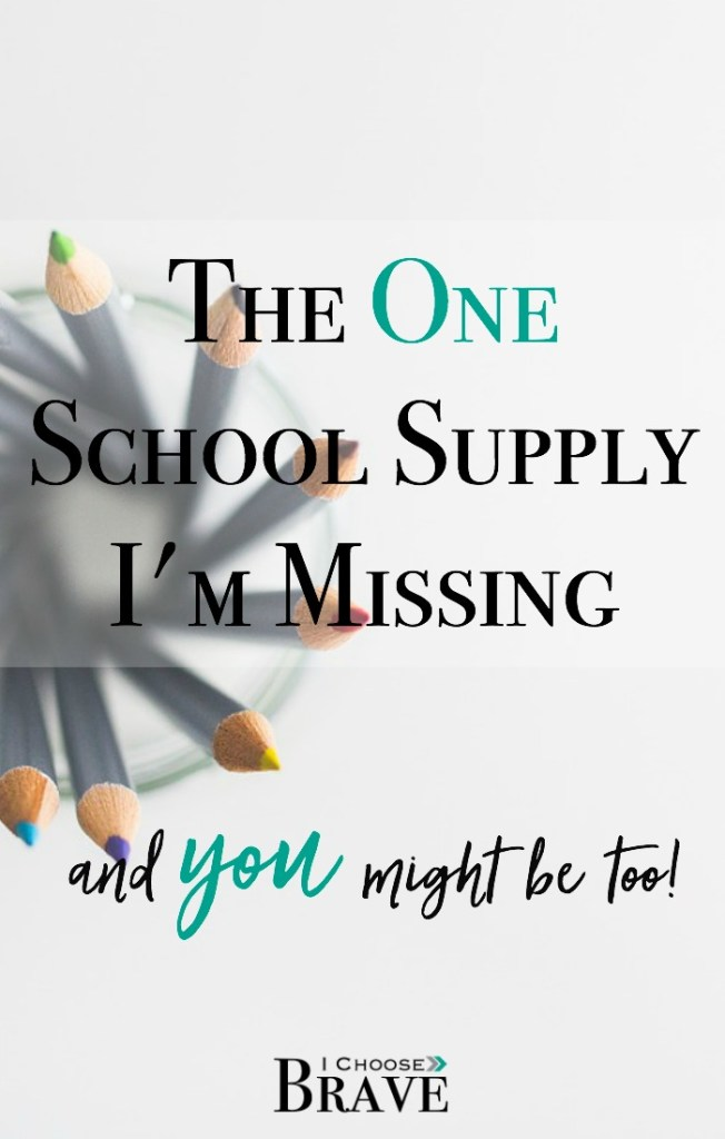 School supplies? Check. But wait! What if I committed to praying for my kids this school year? What if I committed to covering them in prayer. Join this challenge to pray for our children intentionally and faithfully.