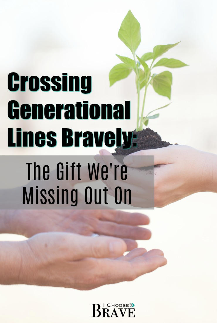 How do we connect generations? Is it possible? Will it be awkward? What if this fear is causing us to miss out on the incredible gifts we can offer each other?