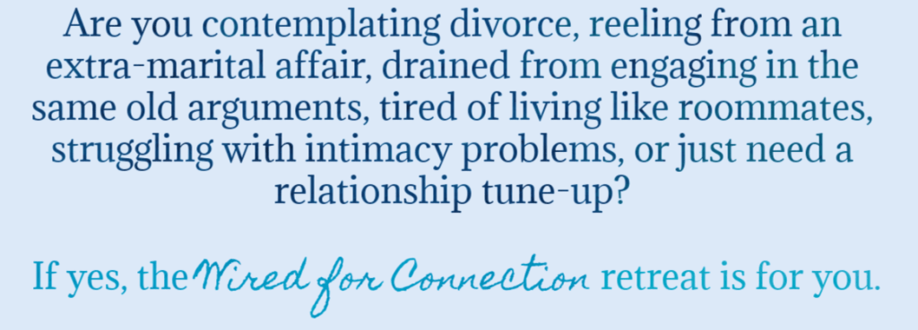 divorce affair communication couples class