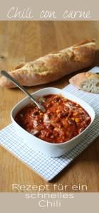 Ein einfaches und leckeres Rezept für Chili con carne gibt es jetzt auf dem Blog. Für mich ein echter Klassiker.   Ichsowirso