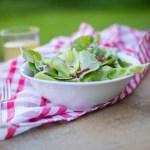 Rezept // Papas Küche – Sommersalat mit Speck und Zitrone