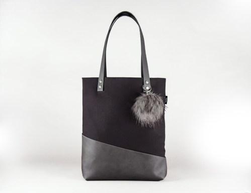 Im heiutige Türchen könnt ihr eine Schultertasche im Tote bag style von Tahti bags & Accessoires in Schwarz gewinnen   Ichsowirso.de