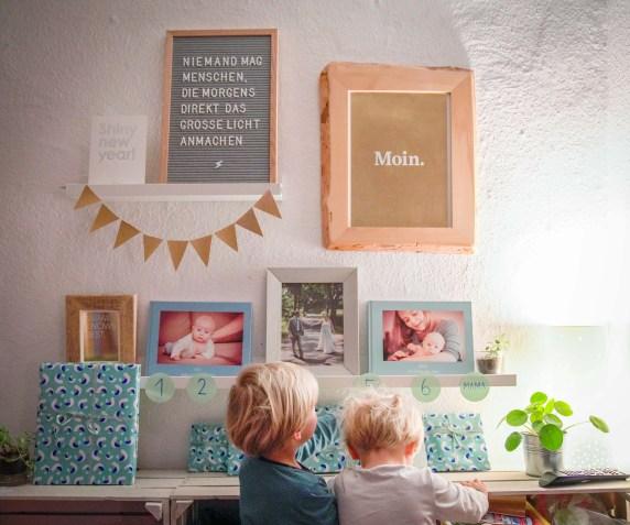 Wenn Mama oder Papa ein paar Tage weg sind, ist es für die Kinder schwer zu fassen wie lange diese Zeit dauern wird. Ich habe daher einen kleinen Countdown Kalender gebastelt, der den Kindern bei einem Überblick über die Wartezeit helfen soll. | Ichsowirso.de