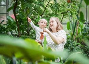 Ausflugstipp in Hamburg: Gewächshäuser im Botanischen Garten vom Planten un Blomen ist ein super Auslfug mit Kindern in Hamburg.  ichsowirso.de