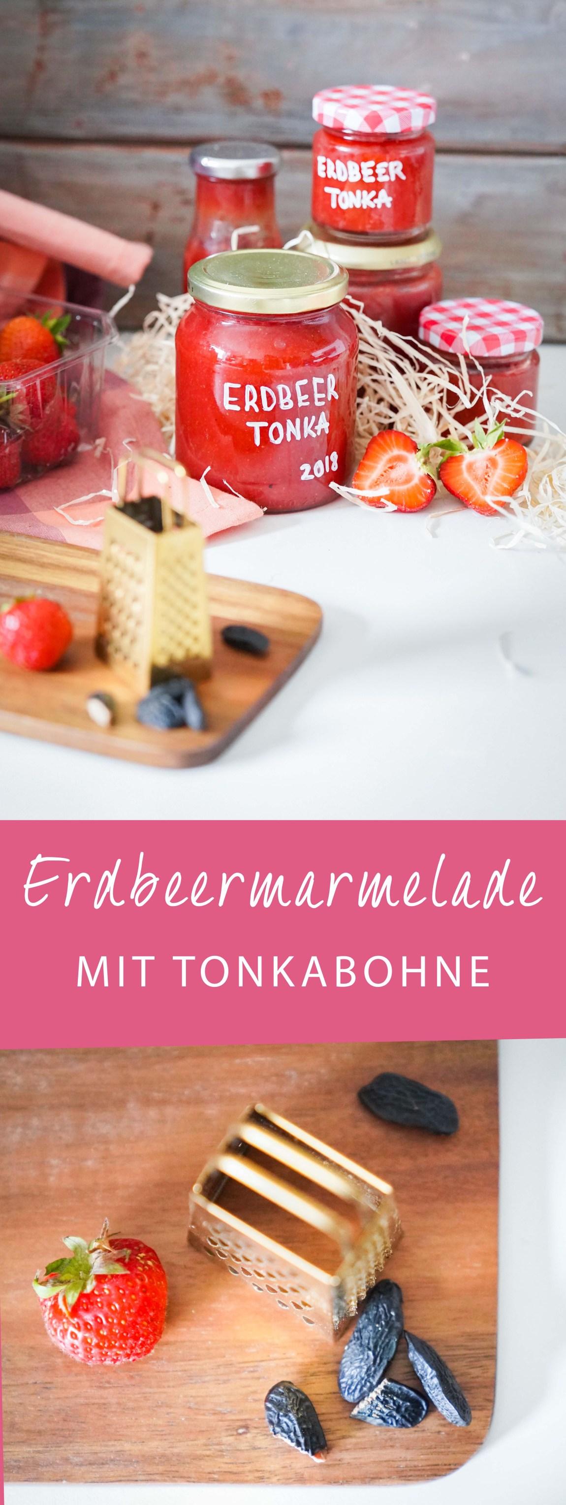 Mein Rezept zum selbermachen von Erdbeermarmelade ist super leicht, mit wenig Zucker und trotzdem etwas besonderes. Ich koche nämlich immer Erdbeermarmelade mit Tonkabohne und habe das Rezept für euch auf dem Blog. | ichsowirso.de