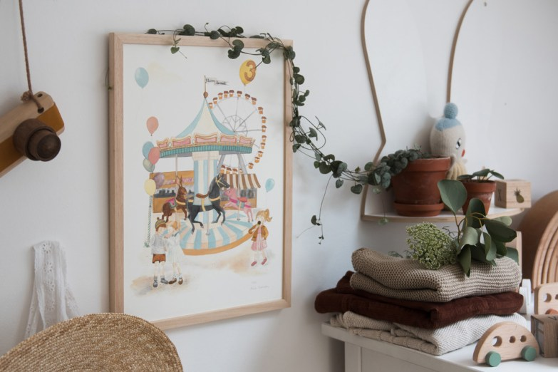 Gutschein für kleines karussel im heutigen Adventskalender Türchen von Ichsowirso
