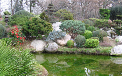 les jardins japonais ici japon