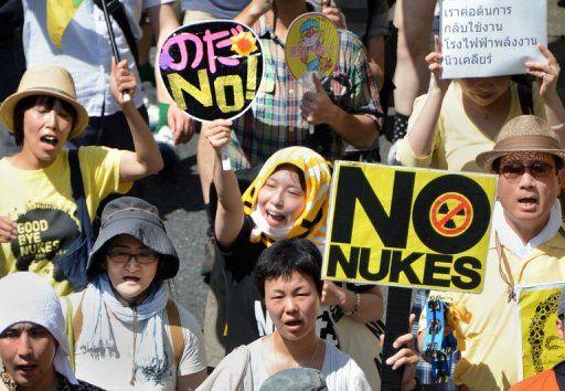Gigantesque manifestation contre le nucléaire | Ici-Japon