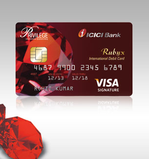 Privilege Banking Cards  Debit Card and Credit Cards