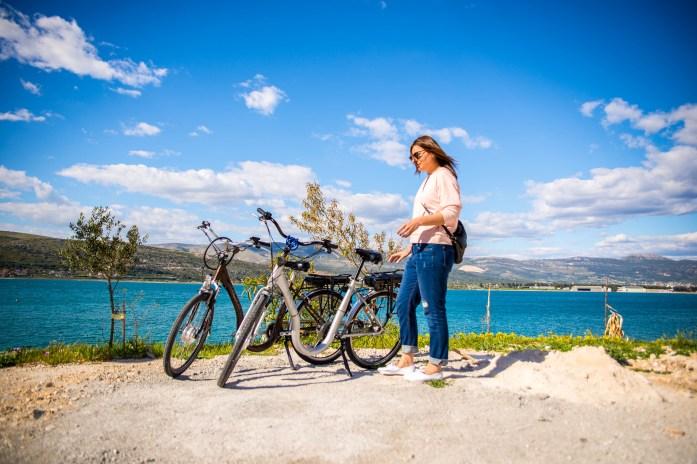 trogir croatie bike vélo voyage