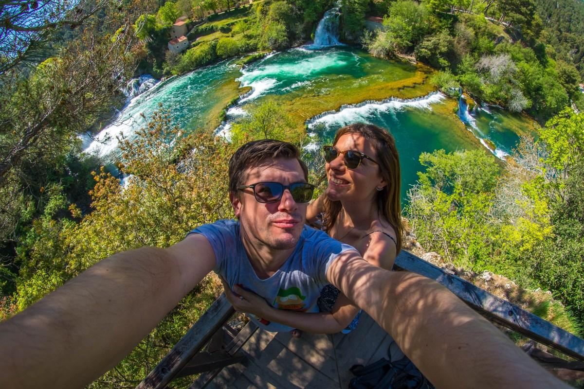 Comment se rendre au lac de Krka en Croatie blog voyage icietlabas blogvoyage ici et là-bas www.icietlabas.fr