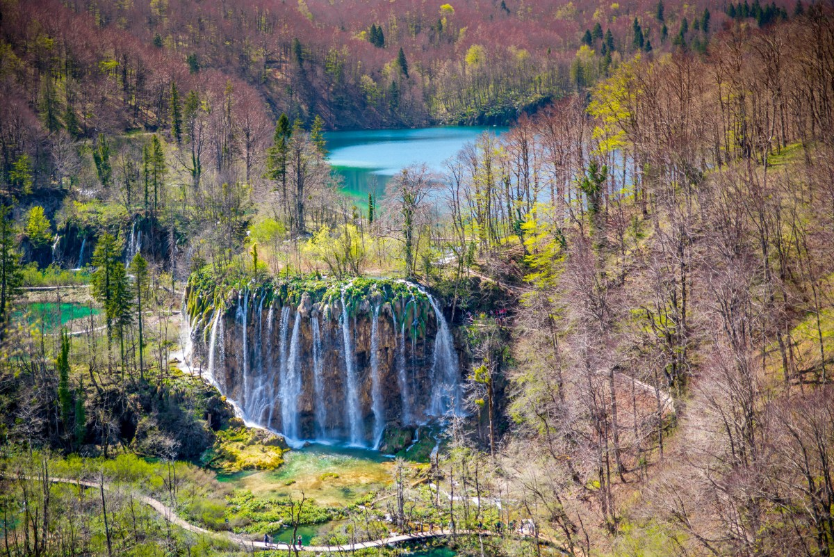 lac Croatie plitvice blog voyage icietlabas blogvoyage ici et là-bas www.icietlabas.fr