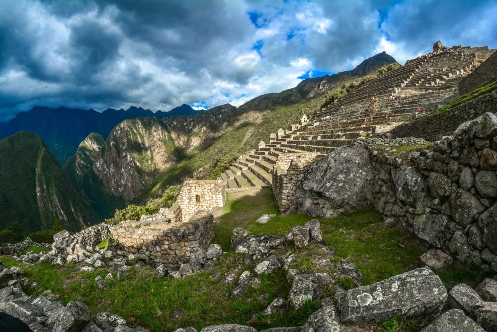 Machu picchu Pérou vue