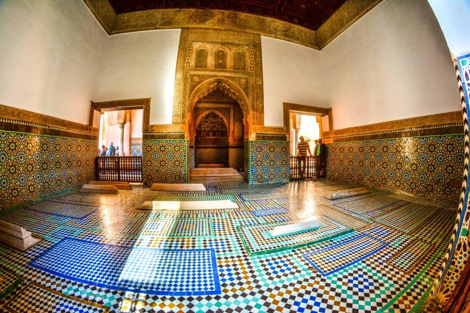 Les Tombeaux Saadiens Maroc Blog de voyage Marrakech