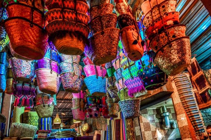 Souks Maroc Marrakech