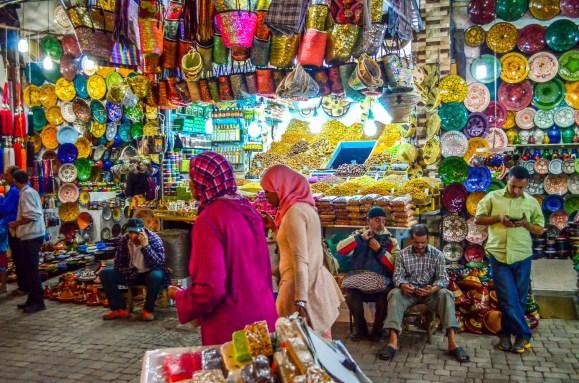 souks ensemble centre ArtisanalVoyage une semaine au Maroc Blog Voyage