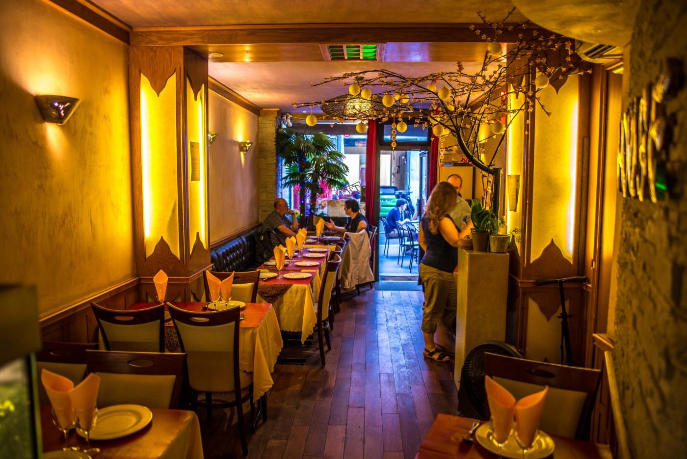 thai house ou manger à Paris, restaurant thai