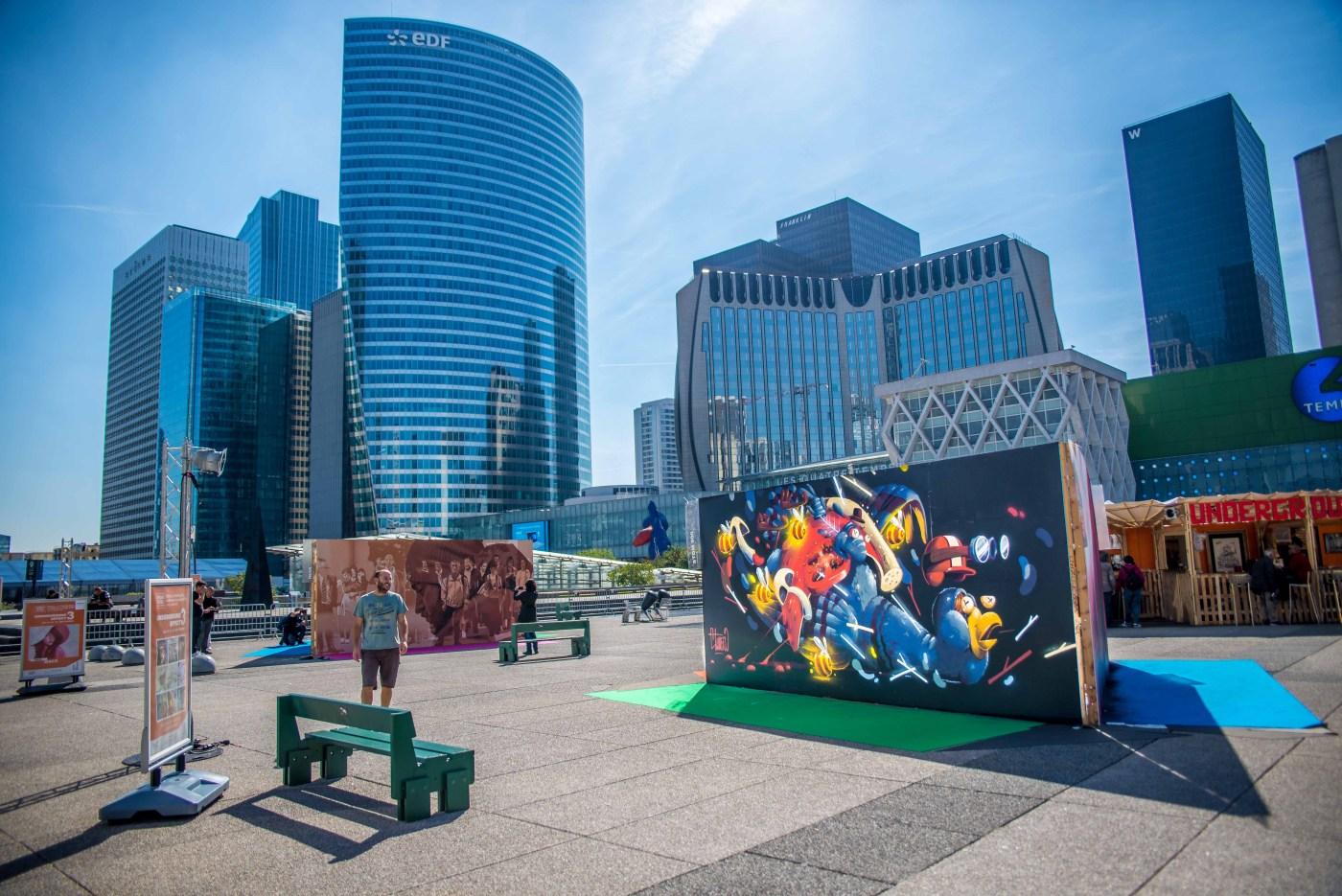 Street Art Blog voyage La Defense Paris