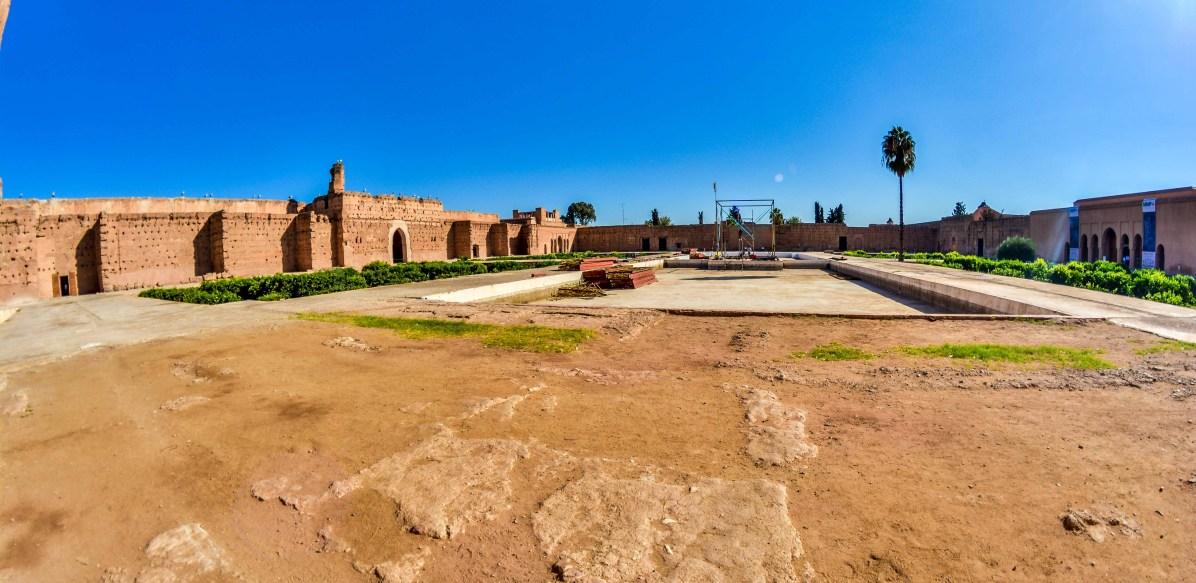 El Badhi Palace ElBadhi Morocco Marrakech visitMorocco VisitMarrakech blog travel blogvoyage icietlabas