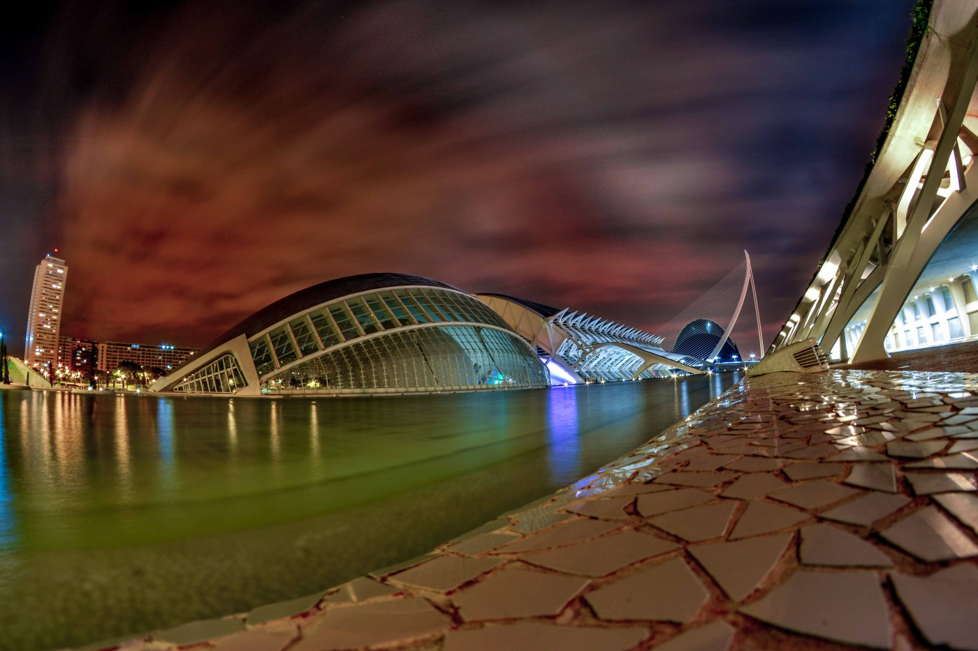 Valencia EspanaEspagne Cité des arts et des sciences-Blogvoyage Blog voyage icietlabas