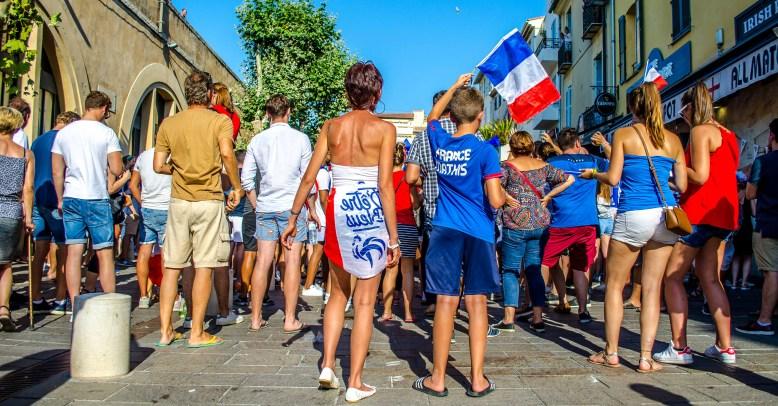 coupe du monde 2018 CDM2018 france croatie Antibes blog voyage icietlabas