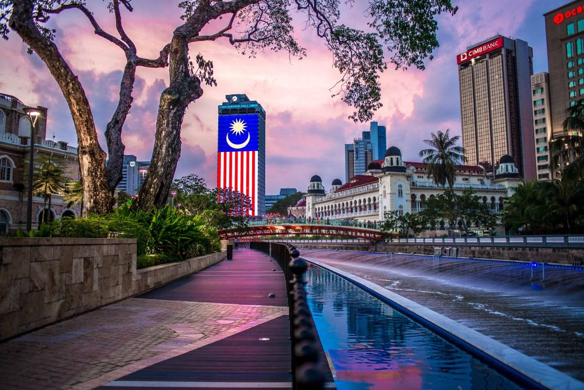 Kuala Lumpur Mosquee Jamek Malaisie blog voyage icietlabas