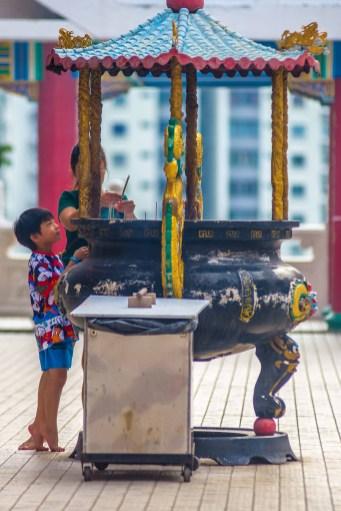 Kuala Lumpur Thean Hou Temple Malaisie blog voyage icietlabas