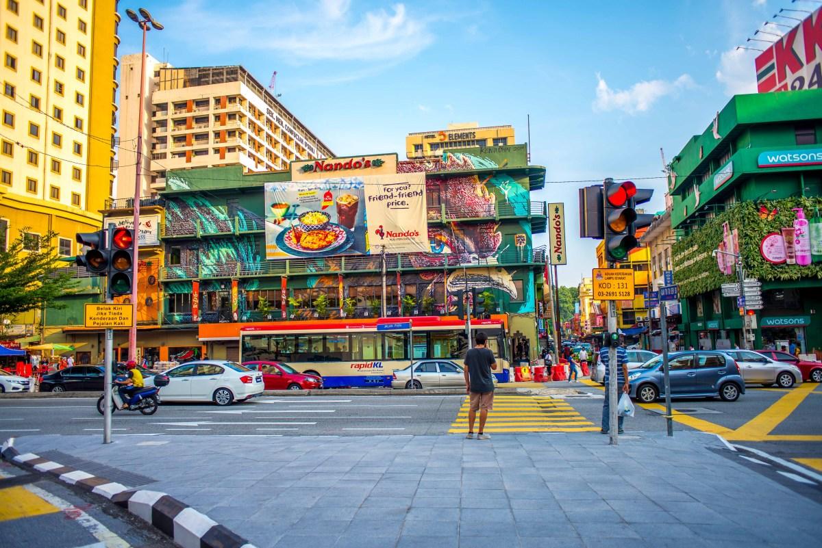 Kuala Lumpur streetart Malaisie blog voyage icietlabas