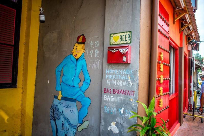 Malacca Street Art Melaka Malaisie Ici et la bas blog voyage-20