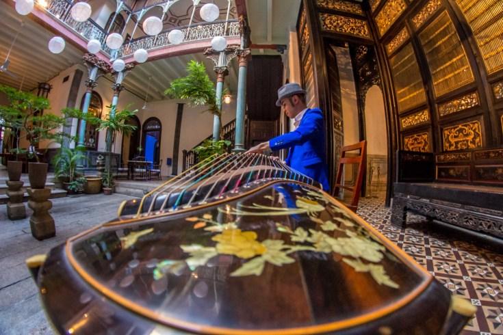 Blue Mansion Maison Bleu Penang Voyage Malaisie Blog Voyage